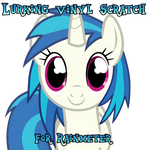 Lurking Vinyl Scratch for Rainmeter by DonKoopa