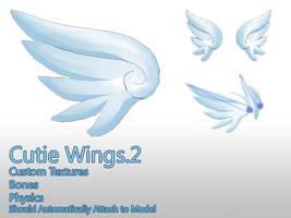 MMD- Cutie Wings.2 -DL by MMDFakewings18