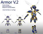 MMD- Armor.2 UPDATE -DL