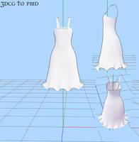 MMD- -Summer Dress by MMDFakewings18