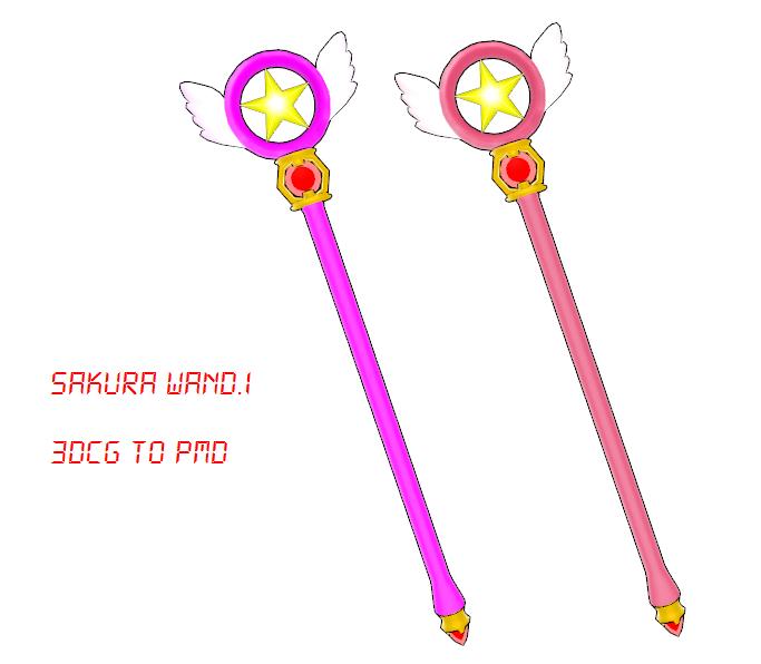 MMD Sakura Wand DOWNLOAD by MMDFakewings18