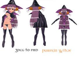 MMD- Pumpkin Witch Set-DOWNLAD by MMDFakewings18