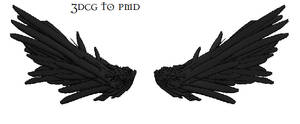 MMD- Suigintou Wings-DOWNLOAD