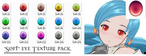 MMD- Soft Eye texture- DL by MMDFakewings18