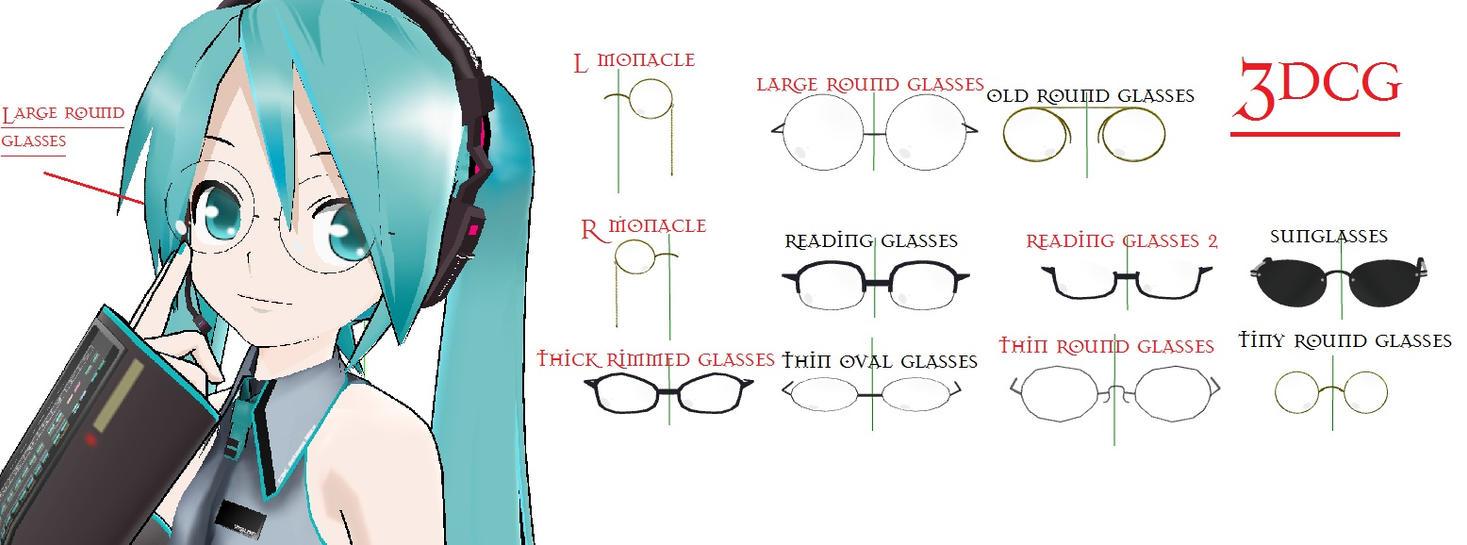 Anime Girl With Round Glasses | CINEMAS 93