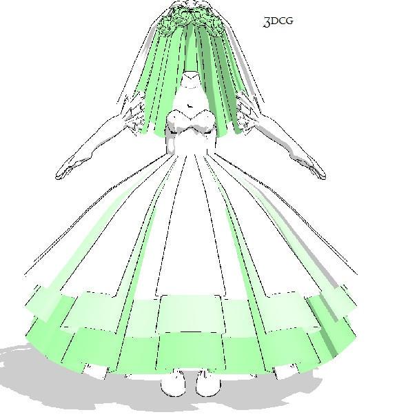 Manga Wedding Dresses