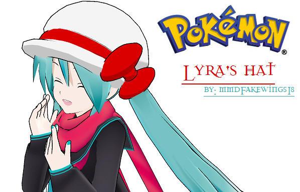 MMD- PKMN Lyra's Hat -DOWNLOAD by MMDFakewings18