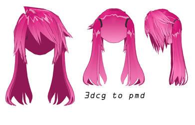MMD- Windy Hair- DL