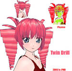 MMD- Twin Drills Set- DL by MMDFakewings18