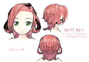 MMD- Swift Hair -DL by MMDFakewings18