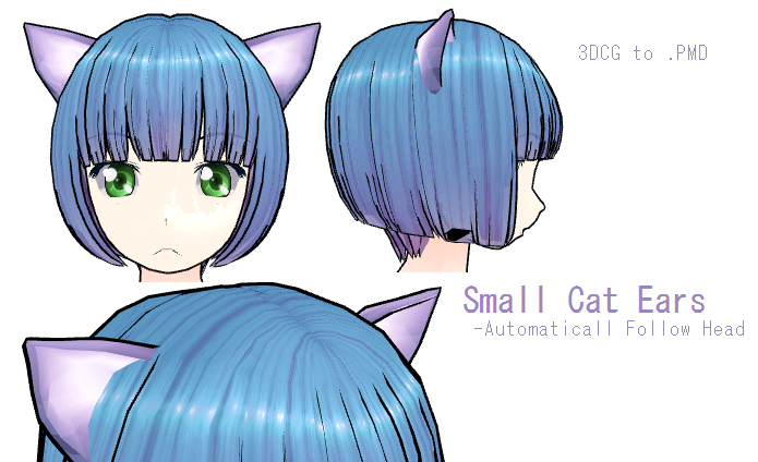 how to draw cat ears anime