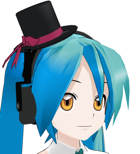 MMD- Top Hat -DL by MMDFakewings18