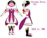 MMD- Strange Dress Set- DL