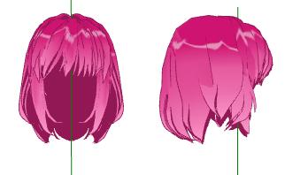 MMD- Pinkie Hair -DL by MMDFakewings18