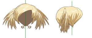 MMD- Prickle Hair -DL