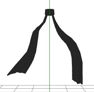 MMD- Ninja Scarf- DL by MMDFakewings18