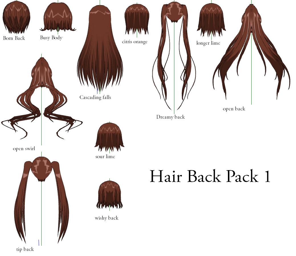 Anime Ponytail Hairstyle - Damen Hair
