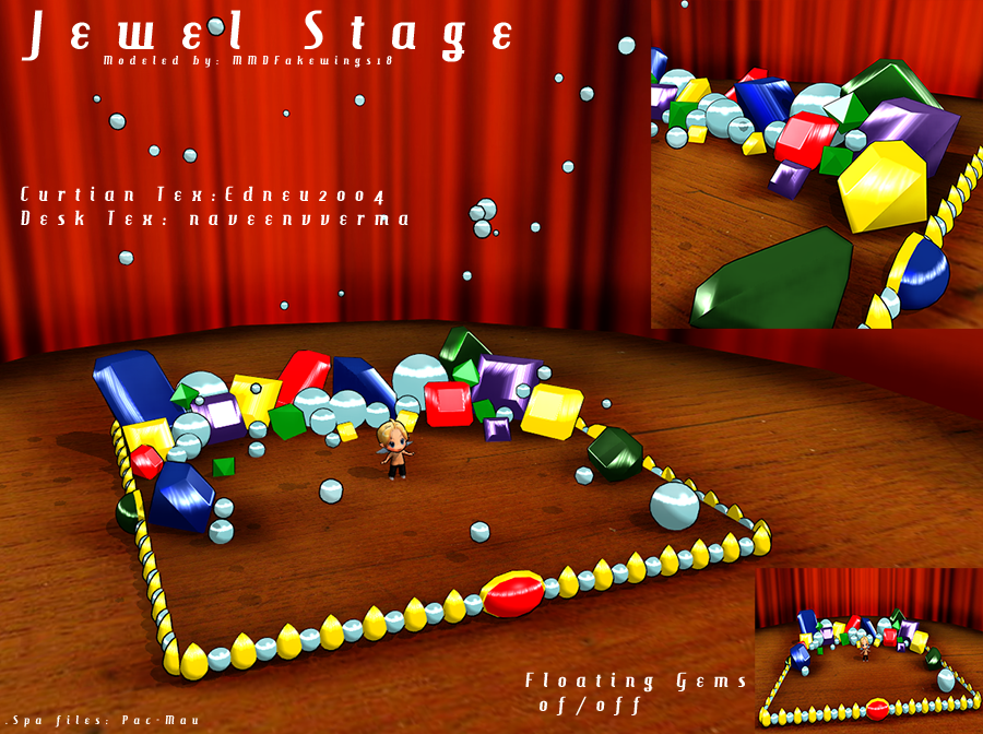 stage flood mmd cute - photo #26