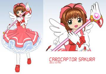 MMD- Sakrua Kinomoto -DL by MMDFakewings18