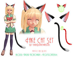 MMD- Fake Cat Ears -DL