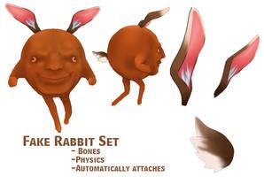 MMD- Fake Rabbit Set -DL