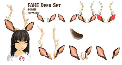 MMD- Fake Deer Set -DL
