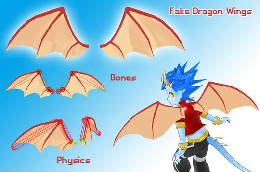 Fake Dragon Wings