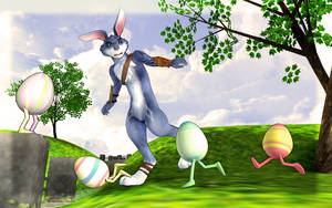 MMD- Newcomer Bunnymund Rise of the Guardians. -DL
