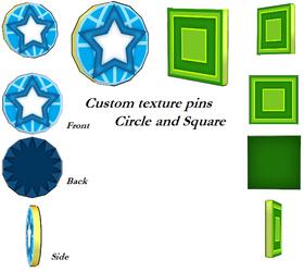 MMD- Custom Pins -DL