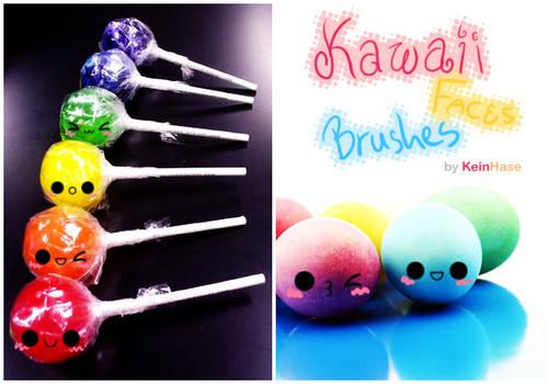 Kawaii Faces Brushes