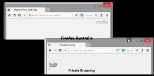 MZ8 Firefox Windows 8 Theme 4.6