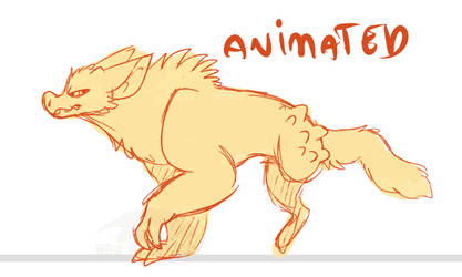 animated - 3 legs by red-anteater