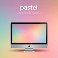 minimal pastel wall by liqui