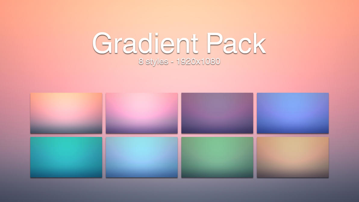 gradient wallpaper pack by liqui