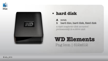 WD Elements Icon