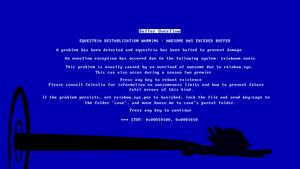 Rainboom Blue Screen