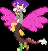 Princess Discord by Yellowy-Cake