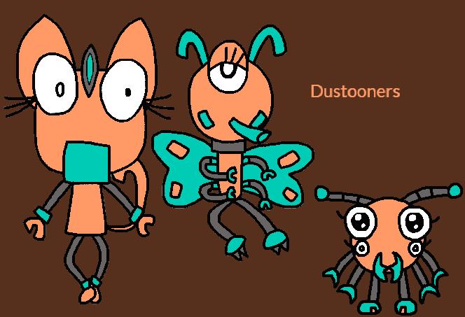 Mixels - The Dustooners by worldofcaitlyn