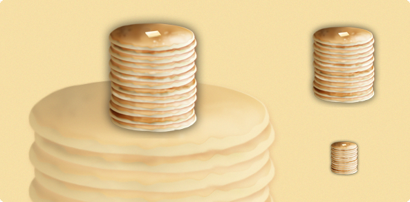 Pancakes Icon by lharboe