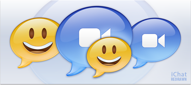 iChat Redrawn by lharboe