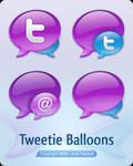 Tweetie Balloons