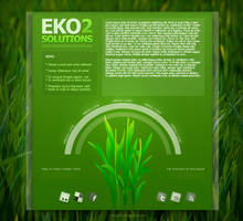 EkoSolutions2 Web Template by Martz90