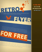 Retro Flyer PSD by Martz90