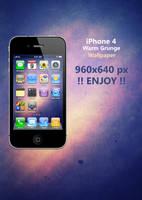 iPhone 4 Warm Grunge Wallpaper by Martz90