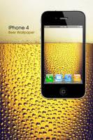 iPhone 4 Beer Wallpaper by Martz90