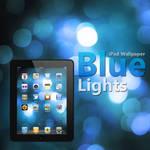 iPad Blue Lights Wallpaper