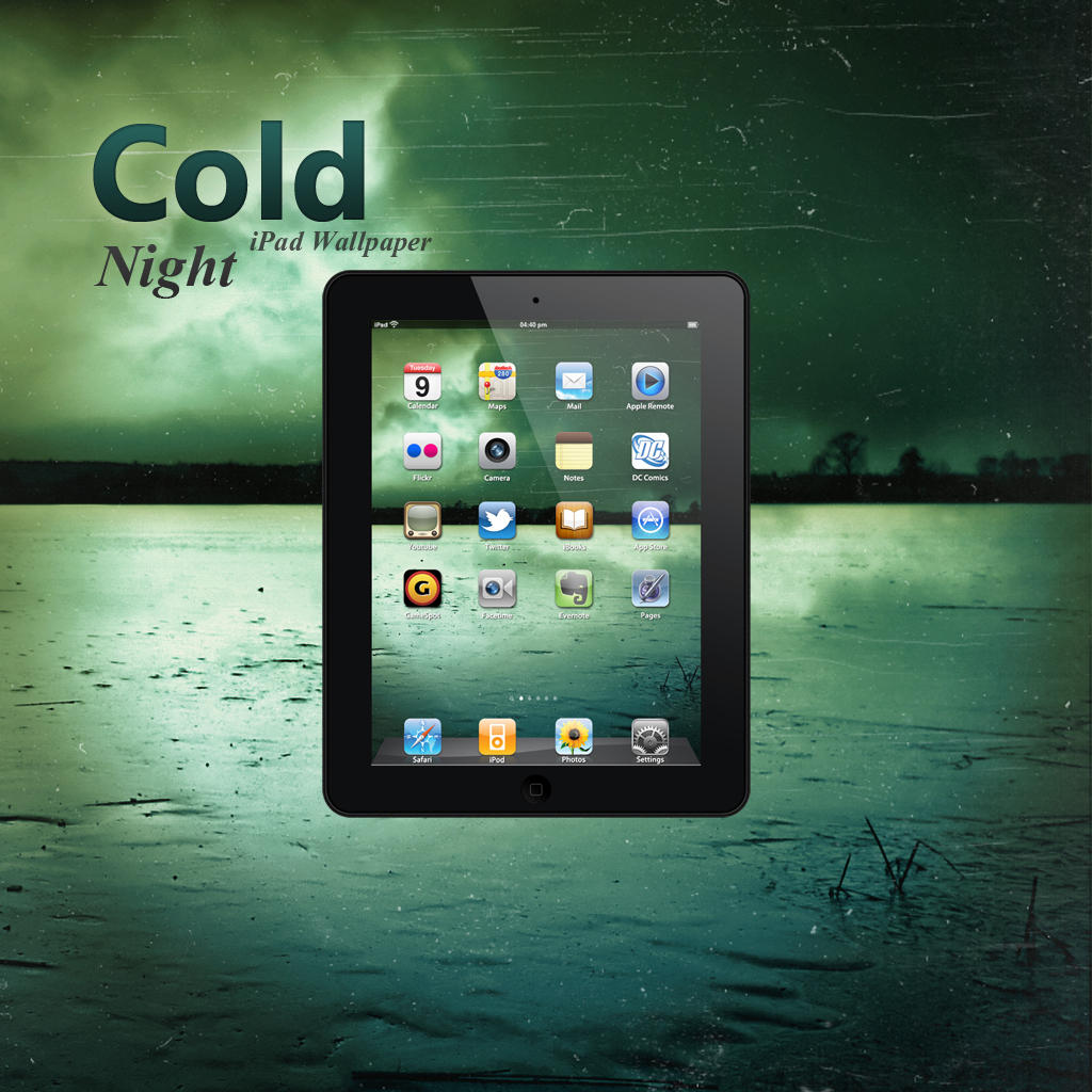 iPad Cold Night Wallpaper by Martz90