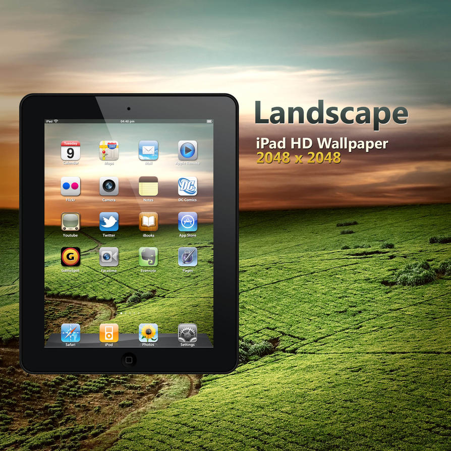 iPad HD Landscape Wallpaper by Martz90