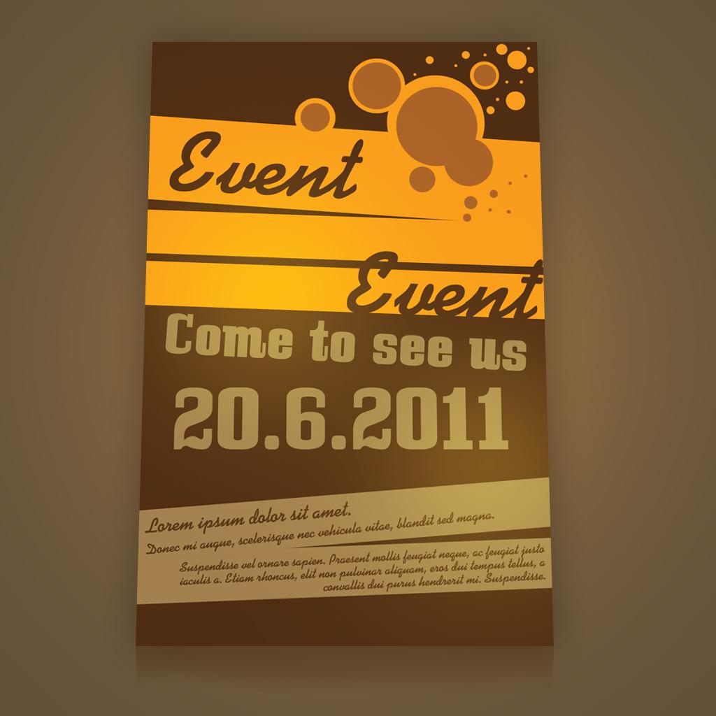 Event Flyer PSD