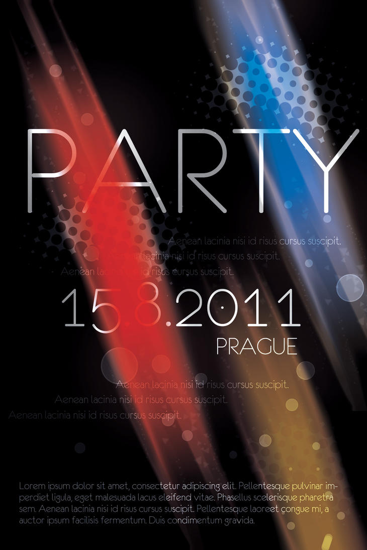 Prague Party Flyer PSD by Martz90